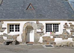 Renoviertes Natursteinhaus bei Goulien