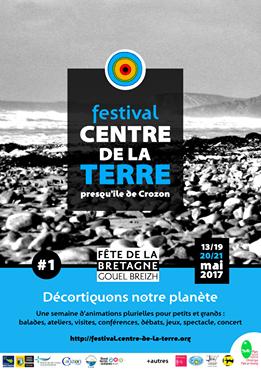 festival du centre de la terre sur la presqu'ile de Crozon
