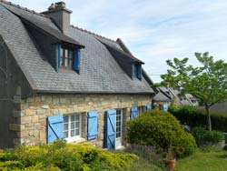 Traditional Penty close to Goulien Beach