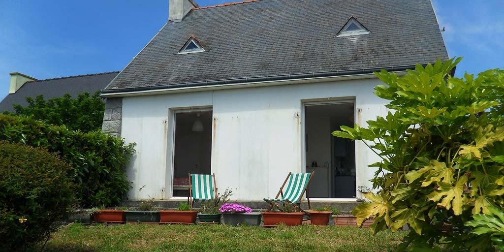 Maison typique, Vue mer, Roscanvel