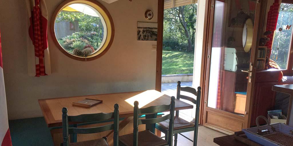 Charmante Maison Bois - Saint Hernot