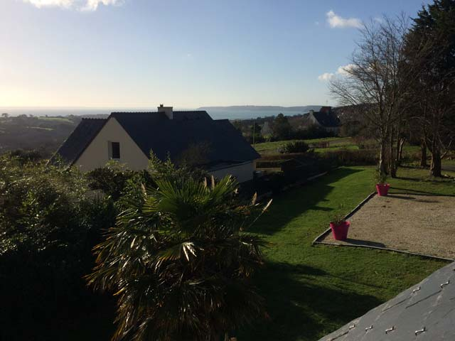 House with a sea view - Close to Aber Beach
