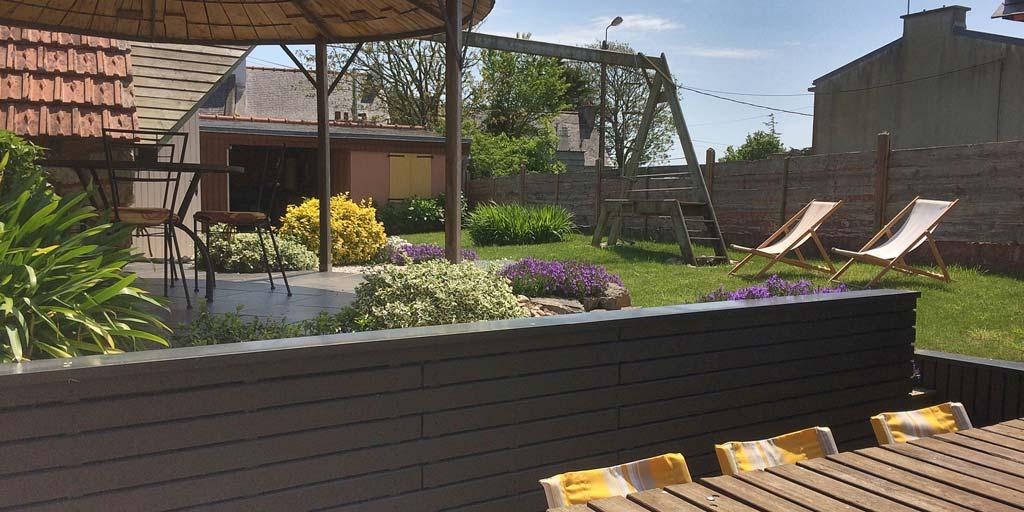 Maison familiale proche plage du Portzic