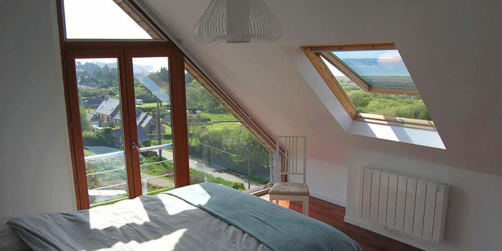 Maison contemporaine - Vue mer