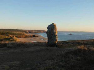 Le menhir de Lostmarch
