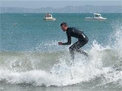 Cours de surf, presqu'île de Crozon