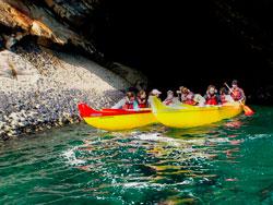 Balades en Pirogue, presqu'île de Crozon
